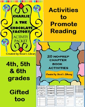 Charlie and the Chocolate Factory plus Bonus Chapter Book