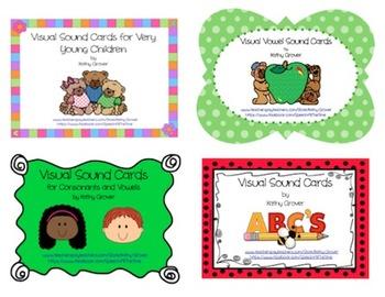 Bundle:  Visual Sound Card Books