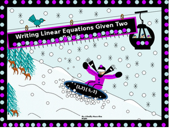 Bundle: Writing Linear Equations