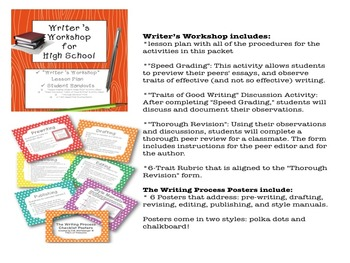 Bundle and Save! Writer's Workshop Materials and The Writi