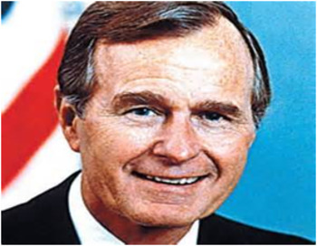 Bundle of 2 - US Presidents - #41 - GHW Bush & His Election