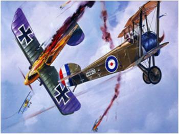 Bundle of 2 - World War I - The Air War