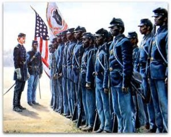 Bundle of 3  - Civil War - African-American Soldiers in th