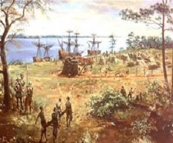 Bundle of 3 - Colonial America - Columbus, Roanoke Colony