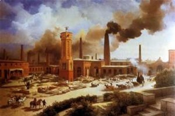 Bundle of 3 - Industrialization - Comparison of the Indust