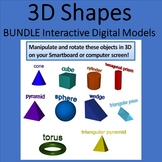 Bundle of 3D shapes