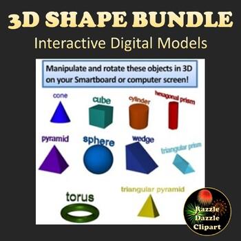 Bundle of 3D shapes
