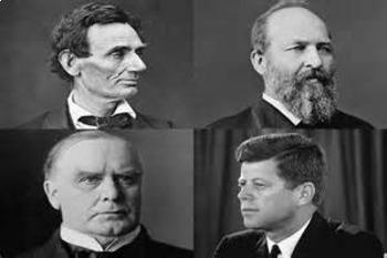 Bundle of 4 - Presidential Assassinations - Presidents Mur