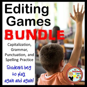 Grammar, Spelling, Capitalization, Punctuation - Fun Class