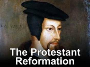 Bundle of 5 - The Protestant Reformation -  Key Figures of