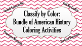 Bundle of American History Coloring Activities