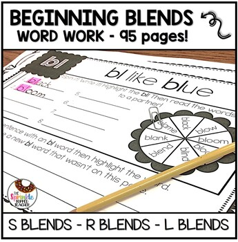Bundle of Blends (S blends, L blends, R Blends) - 95 Pages