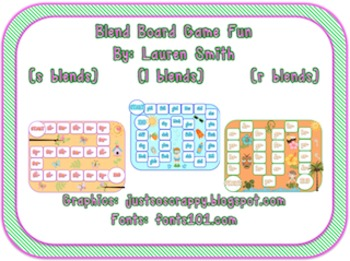 Bundle of Board Games (Reading and Making Words With Begin