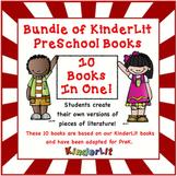 Bundle of KinderLit Preschool Books