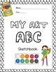 Bundle of Printable Art Sketchbooks:  5 packets of art pro