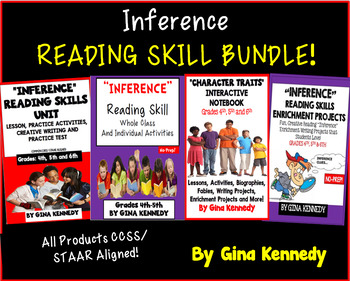 Inference Reading Bundle! Four Great Products!
