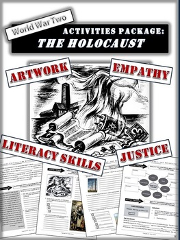 """Holocaust Bundle: 7 Activities, Book Report and """"In their"""