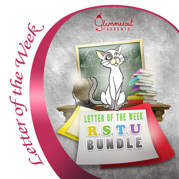 Bundled Letter of the Week Packet, R through U