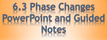 Bundled Physics 6.3 Heat Phase Changes PowerPoint and Guid
