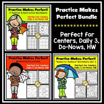 Bundled Practice Makes Perfect Math