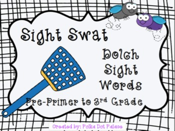 Bundled: Sight Word Swat: All Dolch Lists