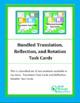 Bundled Translation, Reflection, and Rotation Task Cards