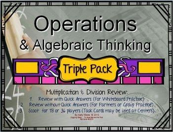 Bundled Triple Pack: Operations & Algebra in Multiplicatio