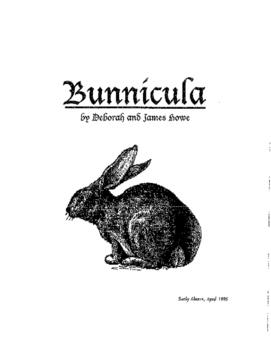 Bunnicula Book Unit