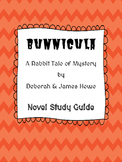 Bunnicula - Bunnicula Novel Study Guide