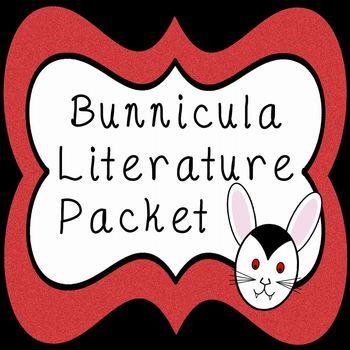 Bunnicula Student Literature Packet and Teacher Guide - CC