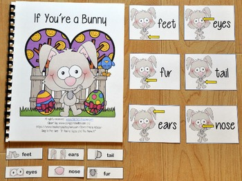 """Bunny Adapted Book--""""If You're a Bunny and You Know It"""""""