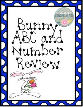 Bunny Alphabet and Number Review