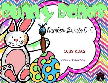 Bunny Bonds Number Bonds Kindergarten Part Part Whole Addi