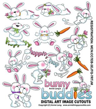Bunny Buddy Clipart