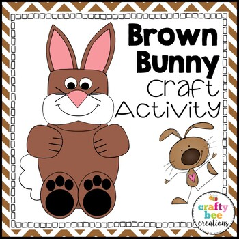 Brown Bunny Cut and Paste