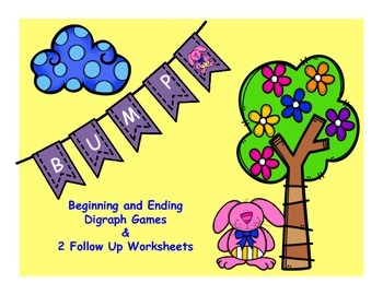 Bunny Digraph Bump { Beginning & Ending Digraphs SH/CH/TH/WH}