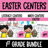 Easter Math and Literacy Center Bundle