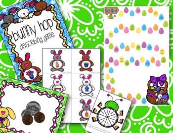 Bunny Hop Describing Game