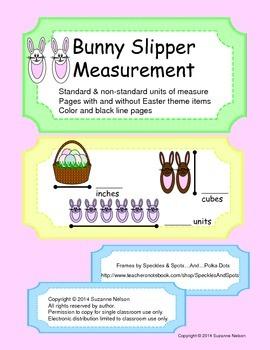 Bunny Slipper Measurement