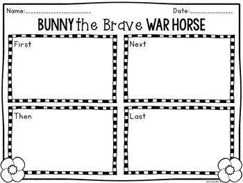 Bunny the Brave War Horse: FREEBIE