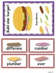Burger Builders!  Practice with the r-controlled vowels -e