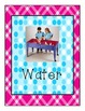 Pink Plaid and Teal Polka dot print Classroom Learning Cen
