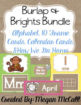 Burlap & Brights Bundle