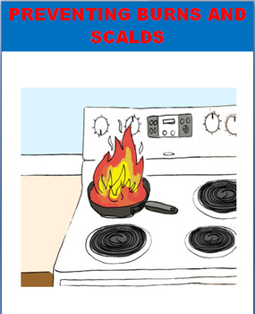 Burn and Scald Prevention and Safety, lesson, 2 activities