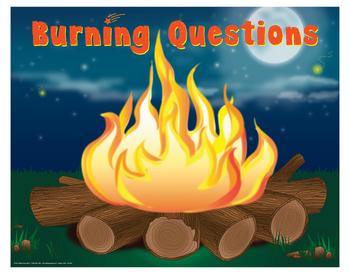 "Burning Questions- 18"" x 23"""