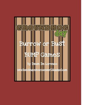 Burrow or Bust! BUMP Game Pack (Addition, Subtraction, Mul
