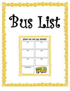 Bus List