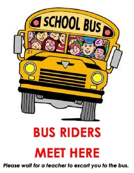 Bus Riders Meet Here