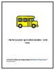 Bus Rules Social Story