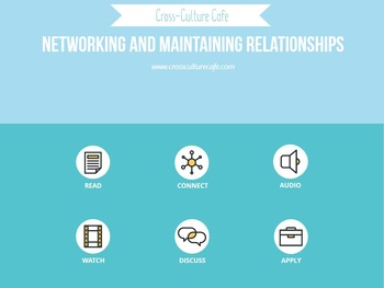 Business English for ESL/EFL: Networking and Maintaining R
